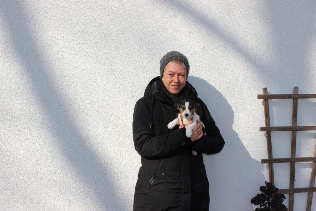 Jule lebt zusammen mit Maja ganz in unserer Nähe (Hagen i. Bremischen)